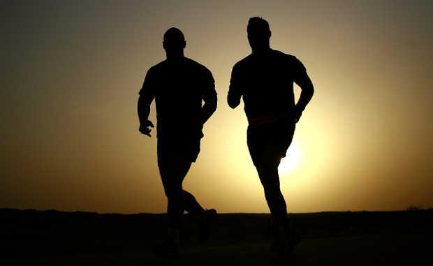 Sport Jogger Läufer