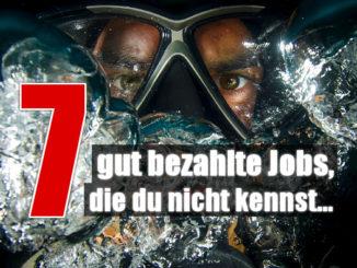 7 gut bezahlte Jobs