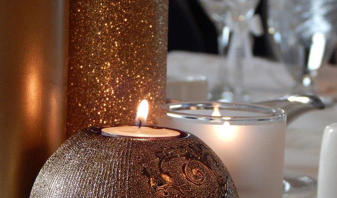 Candlelight Dinner als Valentinsgeschenk