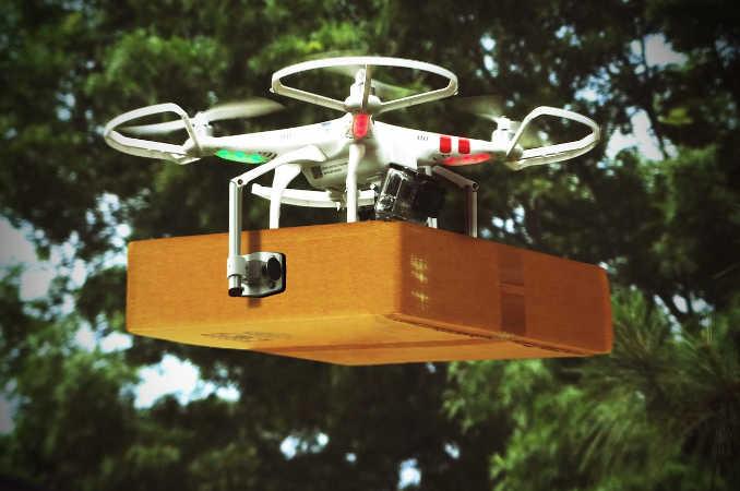 Drohnen als Paketboten