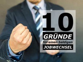 Jobwechsel: 10 gute Gründe für den Wechsel des Arbeitgebers