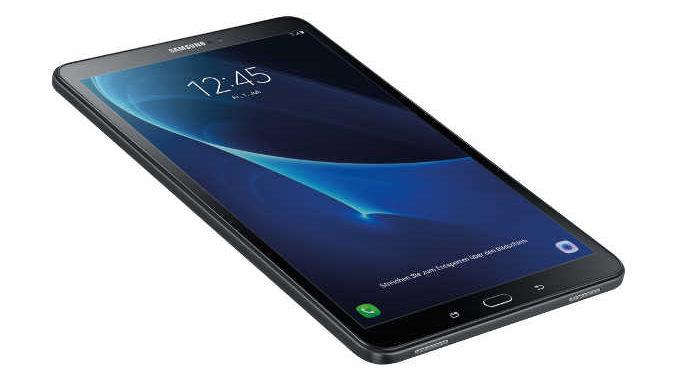 Samsung Galaxy Tab A 10.1: Tablet ab Januar mit 32 GB Speicher