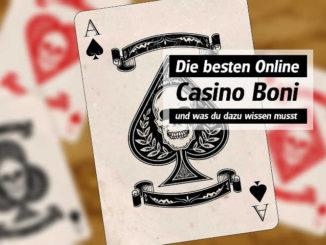 Die besten Online Casino Boni - und was du dazu wissen musst!