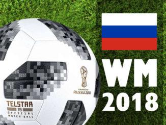 Fußball WM 2018 Russland Spielplan