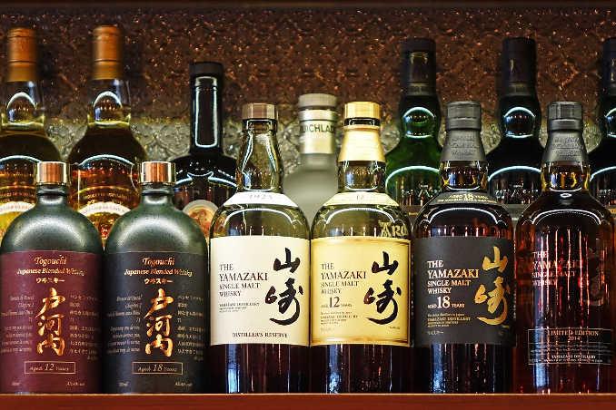japanischer Whisky Yamazaki Single Malt