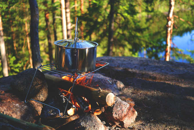 Trekking-Ausrüstung Küche
